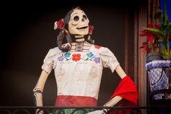 Traditional mexican Day of the dead catrina Stock Photo