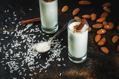 Traditional Mexican drink Horchata royalty free stock photography