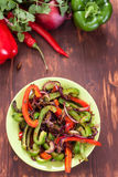 Traditional Mexican Fajita Peppers Royalty Free Stock Photos