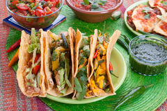 Traditional Mexican Food Stock Images
