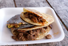 Traditional Mexican Gorditas Royalty Free Stock Image