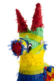 A traditional Mexican Pinata on White Stock Image