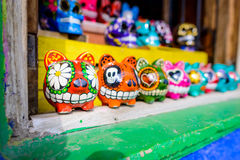 Traditional mexican pottery Stock Images