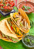 Traditional Mexican Tacos Royalty Free Stock Photography