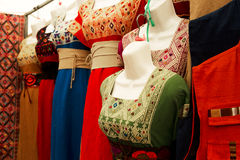 Traditional mexican womens wear Royalty Free Stock Photo