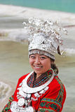 Traditional Miao dress Stock Photography