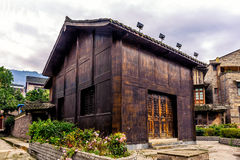 Traditional Miao House Stock Image