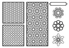 Traditional Middle Eastern / Islamic Patterns Royalty Free Stock Photos