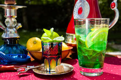 Traditional mint lemonade Royalty Free Stock Images