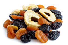 Traditional mixed dried fruit. Stock Image