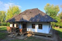 Traditional moldavian village house Royalty Free Stock Photos