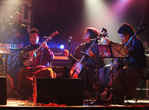 Traditional Mongolian Folk Music Concert Stock Images