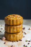 Traditional moon cakes Royalty Free Stock Images