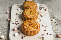 Traditional moon cakes Royalty Free Stock Photography