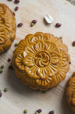 Traditional moon cakes Royalty Free Stock Image