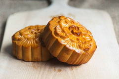 Traditional moon cakes Stock Image