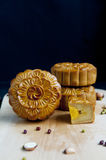 Traditional moon cakes Stock Images