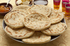 Traditional Moroccan batbot sandwiches Stock Photo