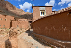 Traditional Moroccan berber village Royalty Free Stock Image