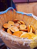 Traditional Moroccan Bread Royalty Free Stock Images