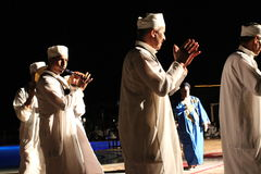 Traditional Moroccan Dance Show Royalty Free Stock Image