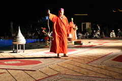 Traditional Moroccan Dance Show Royalty Free Stock Photo