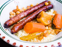 Traditional moroccan dish Royalty Free Stock Photography