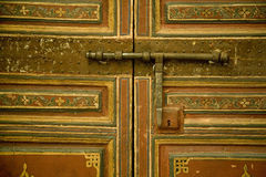 Traditional Moroccan door Stock Photo