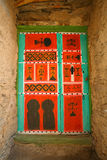 Traditional moroccan door Stock Images