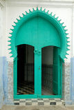 Traditional Moroccan door Stock Image
