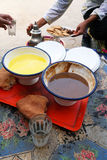 Traditional moroccan food Royalty Free Stock Photos