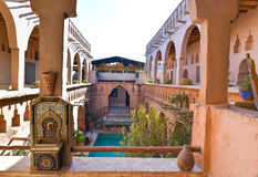 Traditional Moroccan house Royalty Free Stock Photo