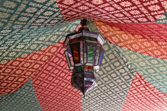 Traditional moroccan lamp Royalty Free Stock Images