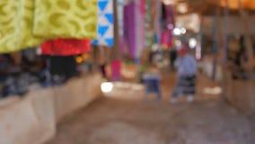 Traditional Moroccan Market. Slightly defocused Traditional Moroccan Market stock video footage