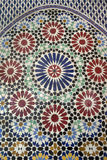 Traditional Moroccan mosaic Stock Photos