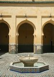 Traditional moroccan palace Royalty Free Stock Image