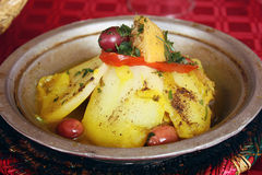 Traditional Moroccan Tagine Royalty Free Stock Images