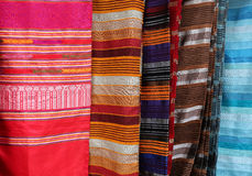 Traditional Moroccan textiles Stock Photography