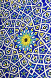 Traditional Moroccan tile pattern background Stock Photography