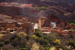 Traditional Moroccan village Stock Images