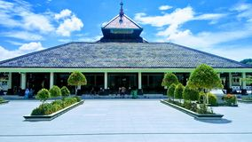 The Traditional Mosque in Indonesia Masjid Demak stock photography