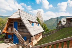 Traditional Mountain House Stock Image