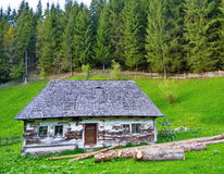 Traditional mountain house Stock Photos