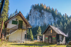 Traditional mountain house Royalty Free Stock Photos