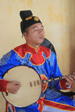 Traditional music performance event in Vietnam Stock Image