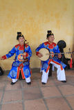 Traditional music performance event in Vietnam Stock Photography