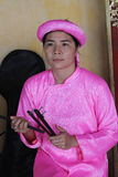 Traditional music performance event in Vietnam Stock Images