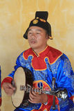 Traditional music performance event in Vietnam Royalty Free Stock Images