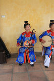 Traditional music performance event in Vietnam Royalty Free Stock Photo
