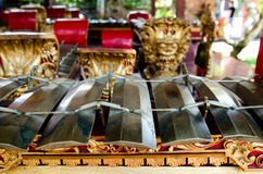 Traditional Musical Instruments, Bali, Indonesia Royalty Free Stock Photo
